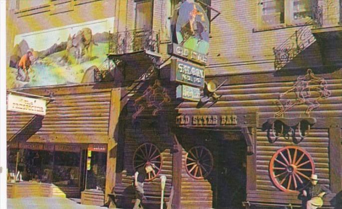 South Dakota Black Hills Deadwood Saloon No 10 Old Style Bar