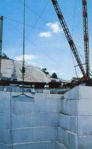 SC - Winnsboro. Blue Granite Quarry