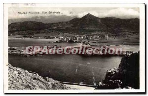Old Postcard Ile Rousse VUe Generale