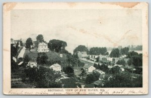 New Haven Missouri~American Square Home on Hill~Downtown Main St~1918