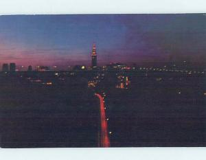 Unused Pre-1980 PANORAMIC VIEW Cleveland Ohio OH hp3934-14