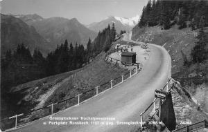 BG41582 Grossglockner hochalpenstrasse real photo echtes foto    austria