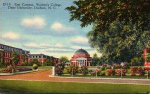North Carolina Durham East Campus Women's College Duke University 1959 C...