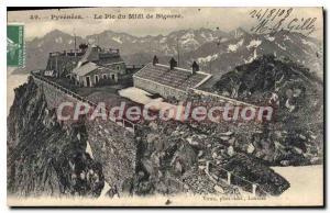 Old Postcard Lourdes Pic Du Midi De Bigorre