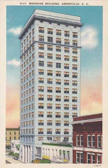 South Carolina Greenville Woodside Building