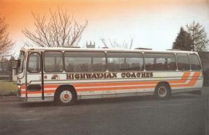 Postcard Coach, Highwayman Coaches, The Hideout, Errol, Scotland #274