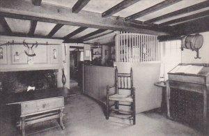 Massachusetts South Sudburg The Old Bar Room Longfellows Wayside Inn Albertype