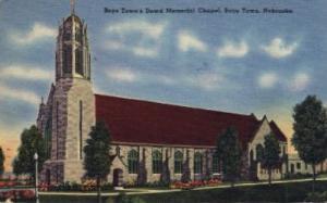Dowd Memorial Chapel Boys Town NE writing on back