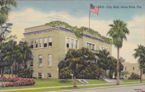 City Hall, AVON PARK, Florida, PU-1947