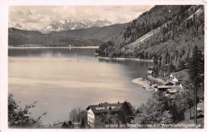 Urfeld am Walchensee mit Wettersteingebirge Hotel Gasthaus Lake Mountain