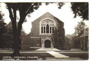 RP: Chapel , Grinnell College , GRINNELL , Iowa , 30-40s