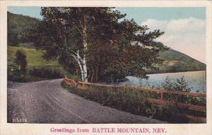Greetings From Battle Mountain Nebraska 1929