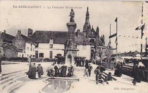 La Fontaine Miraculeuse, Sainte-Anne-d'Auray (Morbihan), France, 1900-1910s