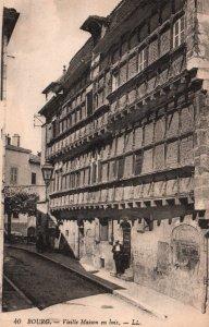 Vieille Maison en Bois,Bourg,France BIN