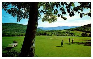 New Hampshire  Sugarbush Golf Course  1st tee