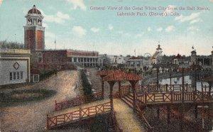 LP24 Denver  Colorado Vintage Postcard White City  Lakeside Park