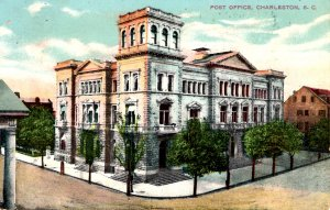 Charleston, South Carolina - A view of the Post Office - in 1910