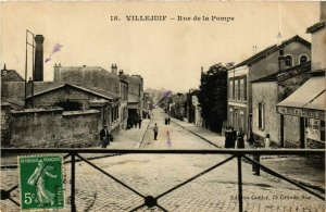 CPA VILLEJUIF Rue de la Pompe (869728)