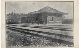 DALTON , Pennsylvania, PU-1921; New D.L. & W. Passnger Railroad Station