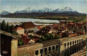CPA AK Konstanz Aussicht vom Munster GERMANY (893469)
