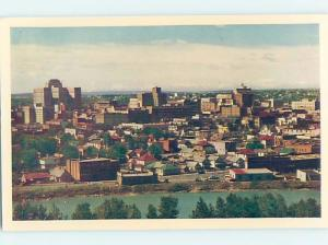 Unused Pre-1980 AERIAL VIEW OF TOWN Calgary Alberta AB F8372