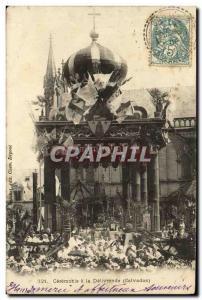 Old Postcard Ceremony has Delivrande