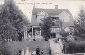 Wisconsin Kewaunee Colonel George W King Residence 1908