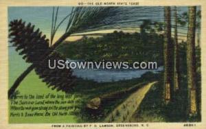 Old North State Toast Greensboro NC Unused