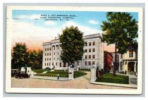 Vintage 1948 Postcard Mary A. Ott Memorial Good Samaritan Hospital Lexington KY