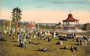 Australia Adelaide, Elder Park, Band Concert, Pavilion, animated