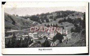 Old Postcard Rigi Kloesterli