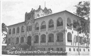 German East Africa Tanzania Dar Es Salaam, Daressalam, Base Commandant's Office