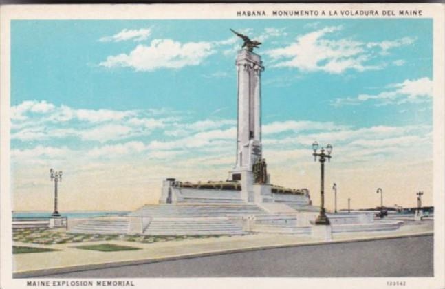 Cuba Havana Maine Explosion Monument