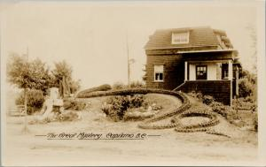 The Great Mystery Capilano BC Unused Gowen Sutton Real Photo Postcard E36