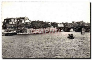 Modern Postcard Toulouse The Garonne to the & # 39eglise and bream