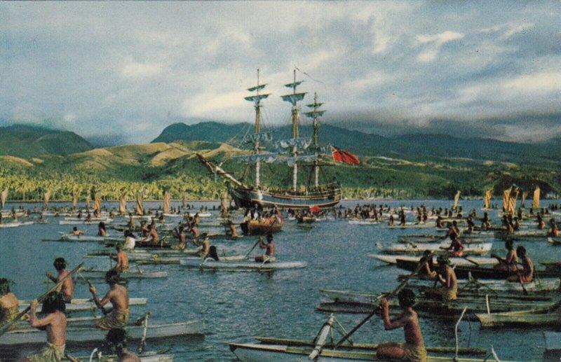 TAHITI , 1960s ; Bounty Arrives