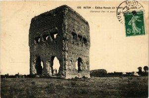 CPA Autun Edifice Romain dit Temple de Janus FRANCE (952552)