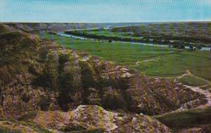 Canada Alberta Badlands Along Red Deer River In Drumheller Valley