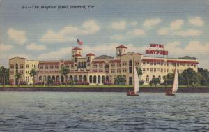 The Mayfair Hotel, Sail Boats, Sanford, Florida, PU-1949