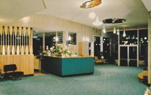 Interior of the Shoreline Hotel, Downtown Nanaimo, British Columbia, Canada, ...