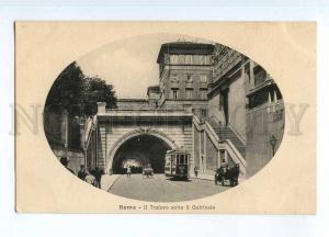 247159 ITALY ROMA Tunnel Quirinale TRAM Vintage Alterocca PC