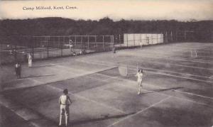 Connecticut Kent Camp Tennis Courts Gilford Artvue