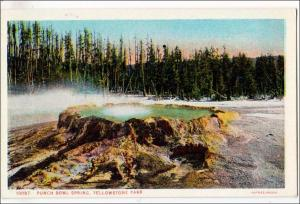 Punch Bowl Spring,  Yellowstone Park