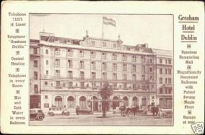 ireland, DUBLIN, Gresham Hotel (ca. 1930)