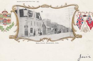 MOOSOMIN, Assiniboia, Saskatchewan, Canada, 1900-1910s; Main Street