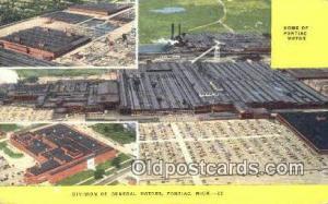 Home of Pontiac Motor, Division of General Moters, Pontiac Michigan, USA Auto...