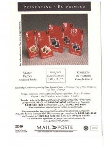 Canada Post 1991, Stamp Packs