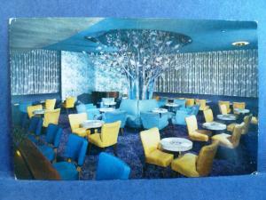 Postcard GA Savannah The Purple Tree Lounge Interior