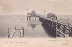 The Pier at Savin Rock CT, Connecticut - pm 1905 - UDB