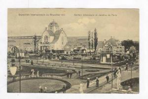 Section Allemande Et Jardins De Paris,Bruxelles,Belgium,1900-1910s